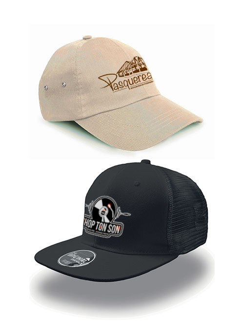 sérigraphie broderie marquage casquettes personnalisables