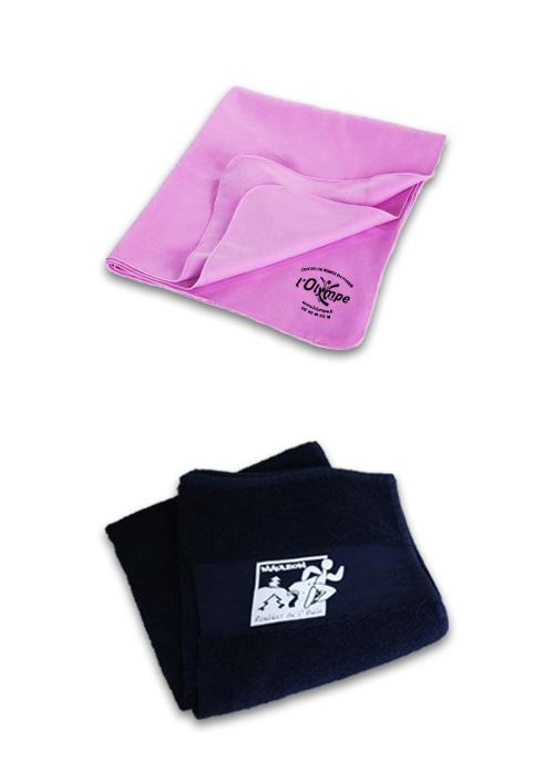 sérigraphie broderie marquage serviettes de sport