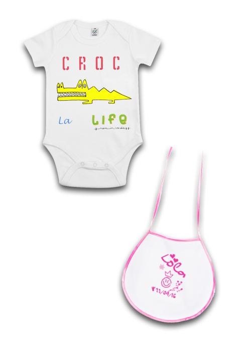 sérigraphie broderie marquage vêtement de bébé enfant