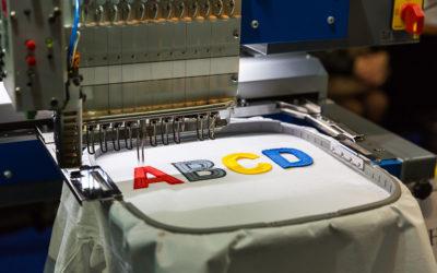 technique de la broderie personnalisé pour l'impression textile artweark impress